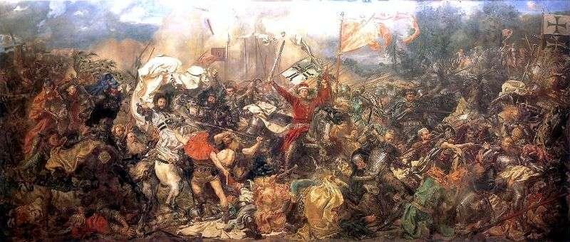 Bitwa pod Grunwaldem   Jan Alojzy Mateiko