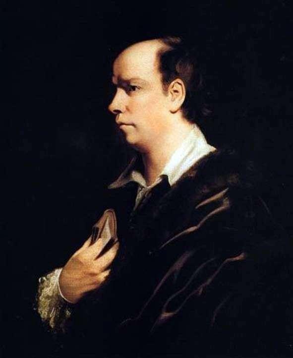 Portret Olivera Goldsmitha   Joshua Reynolds