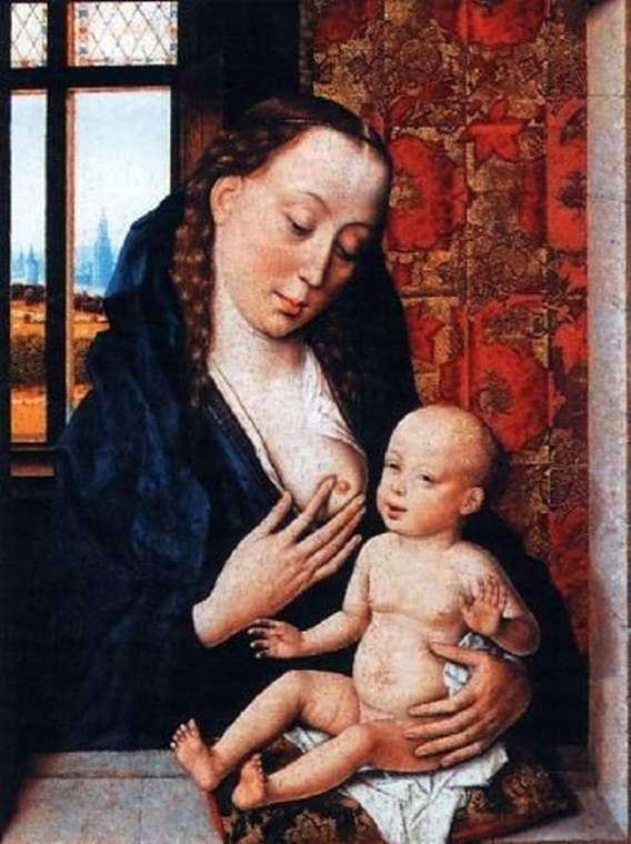 Madonna Feeding the Baby   Dirk Bouts
