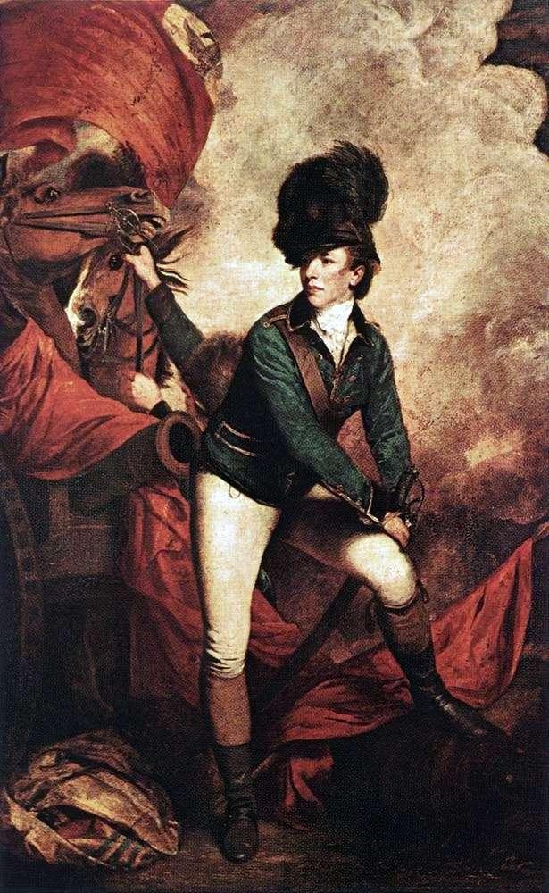 Portret pułkownika Tarletona   Joshua Reynolds