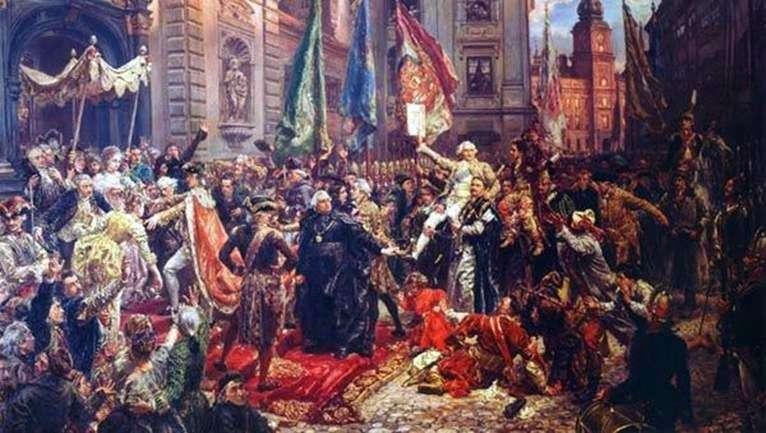 Konstytucja 3 maja   Jan Aloiy Mateiko