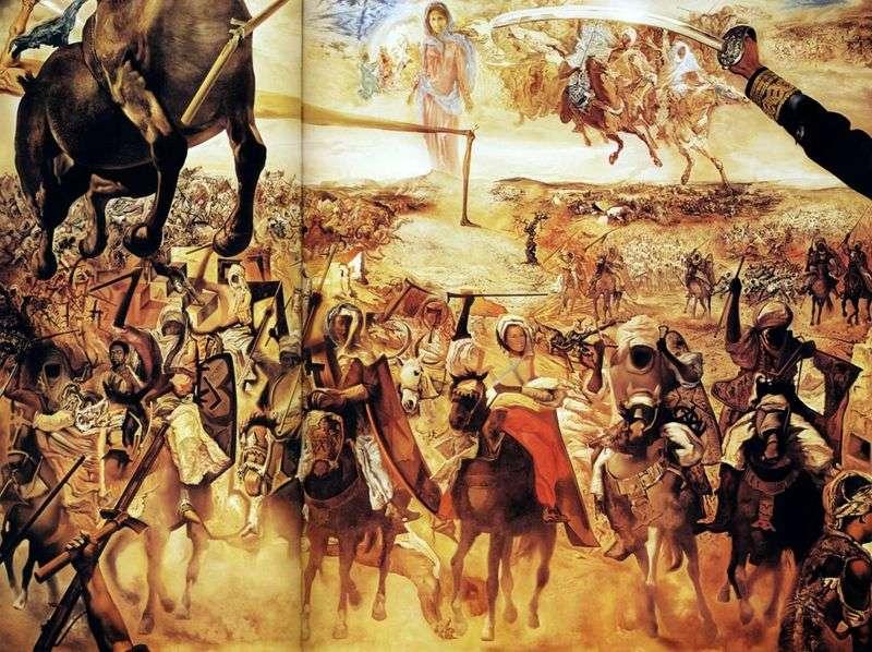 Bitwa o Tetouan   Salvador Dali