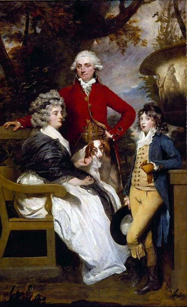 Rodzina Breddilów   Joshua Reynolds