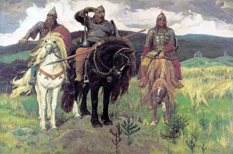 Bogatyrs   Victor Vasnetsov