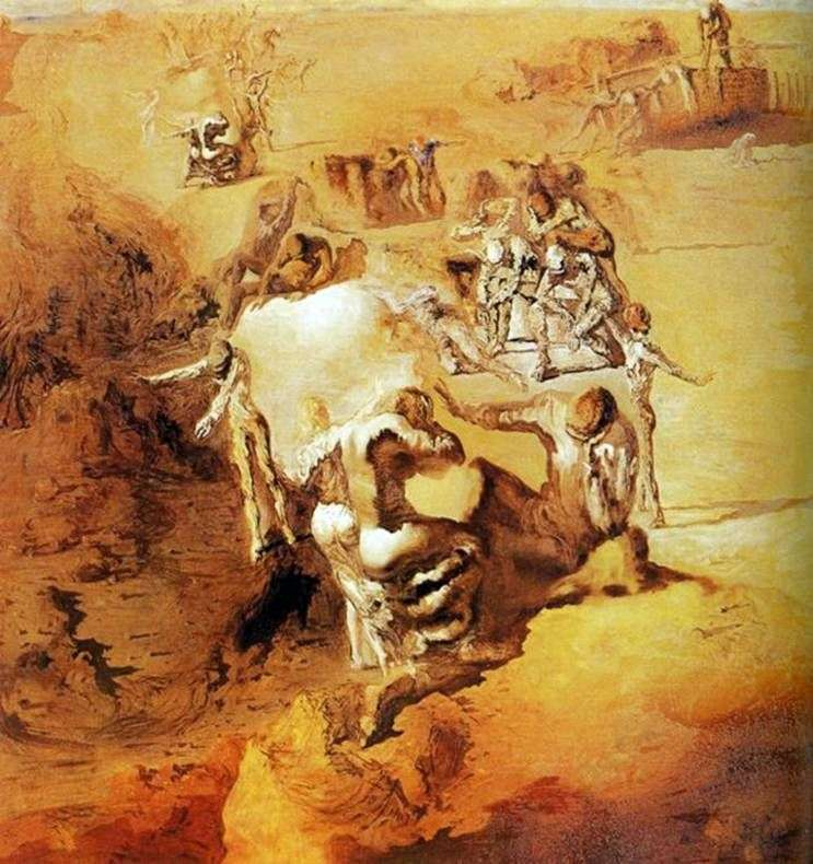 Wielki paranoik   Salvador Dali