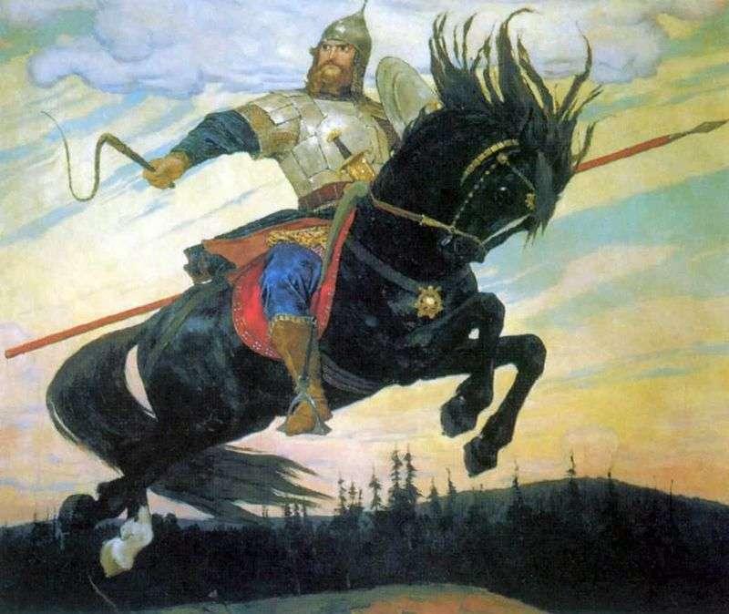 The Bogatyr Skok   Viktor Vasnetsov
