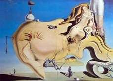 Świetny Masturbator   Salvador Dali