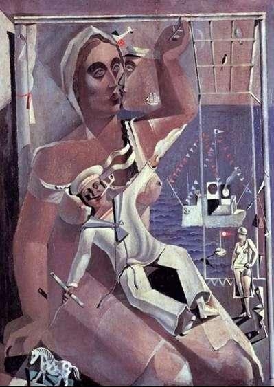 Venus i Sailor   Salvador Dali