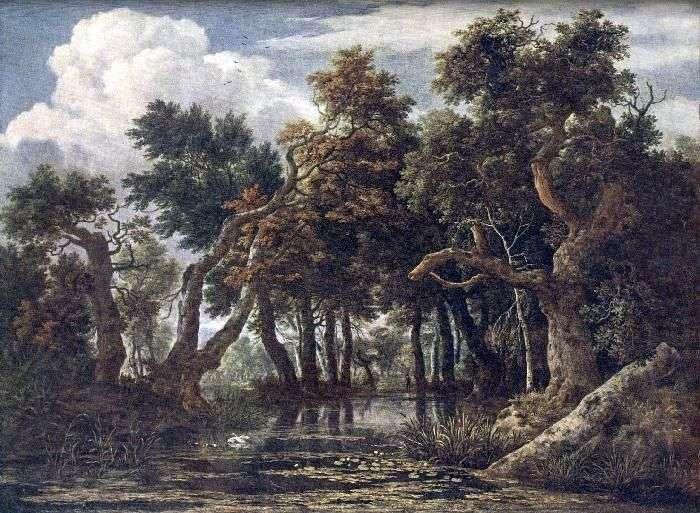 Bagna   Jacob van Ruysdael