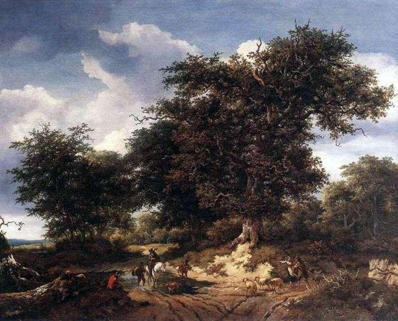 Big Oak   Jacob van Ruysdael