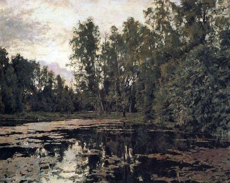Zarośnięty staw. Domotkanovo   Valentin Serov