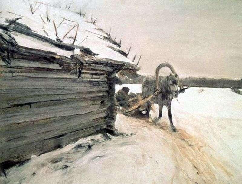 Zima   Valentin Serov