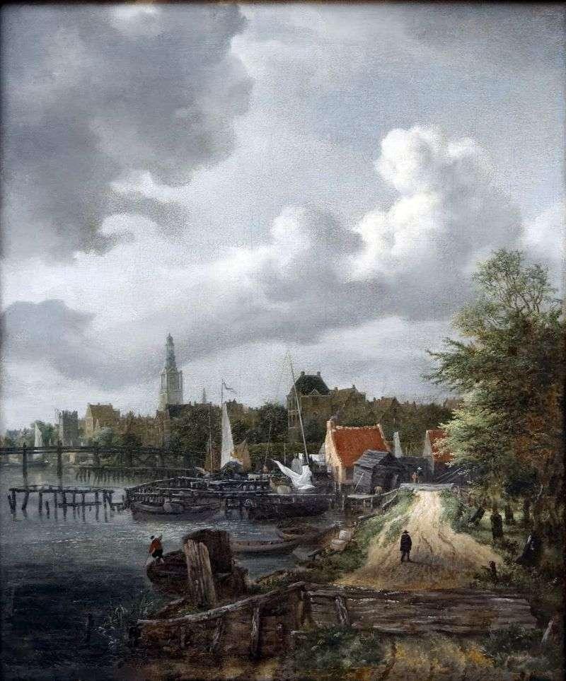 Widok z Amsterdamu   Jacob van Ruisdal