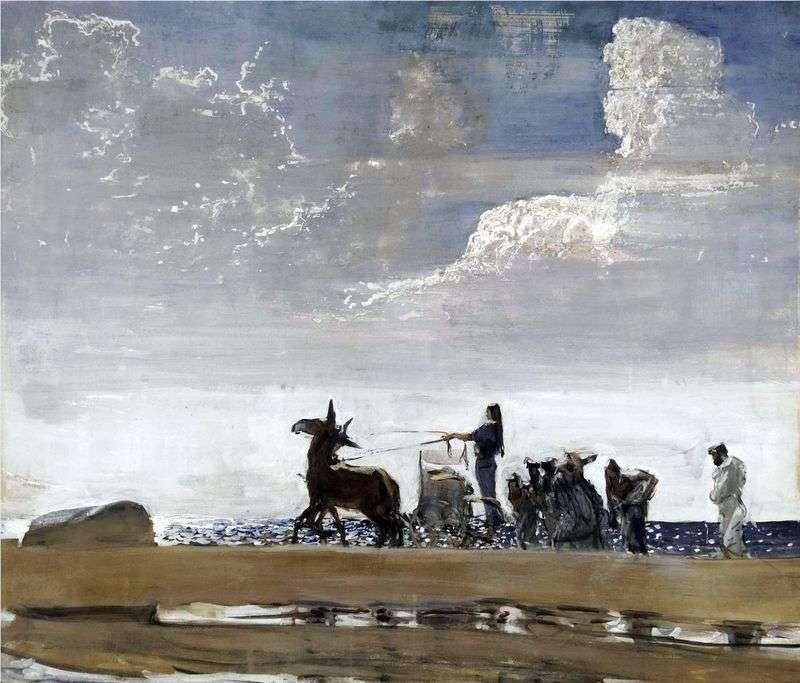Odyssey i Navzikaya   Valentin Serov