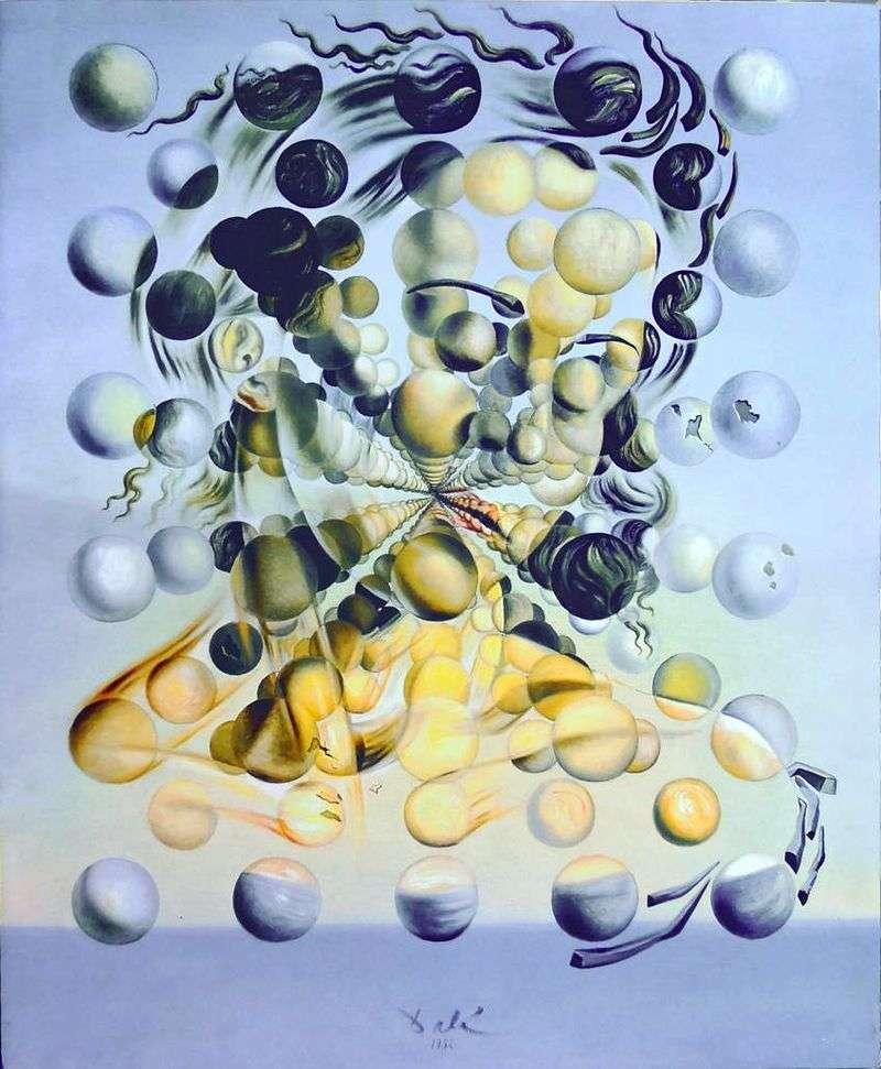 Galatea Spheres   Salvador Dali