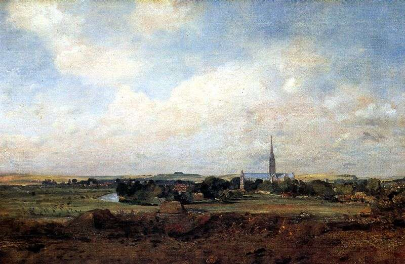 Widok z Salisbury   John Constable