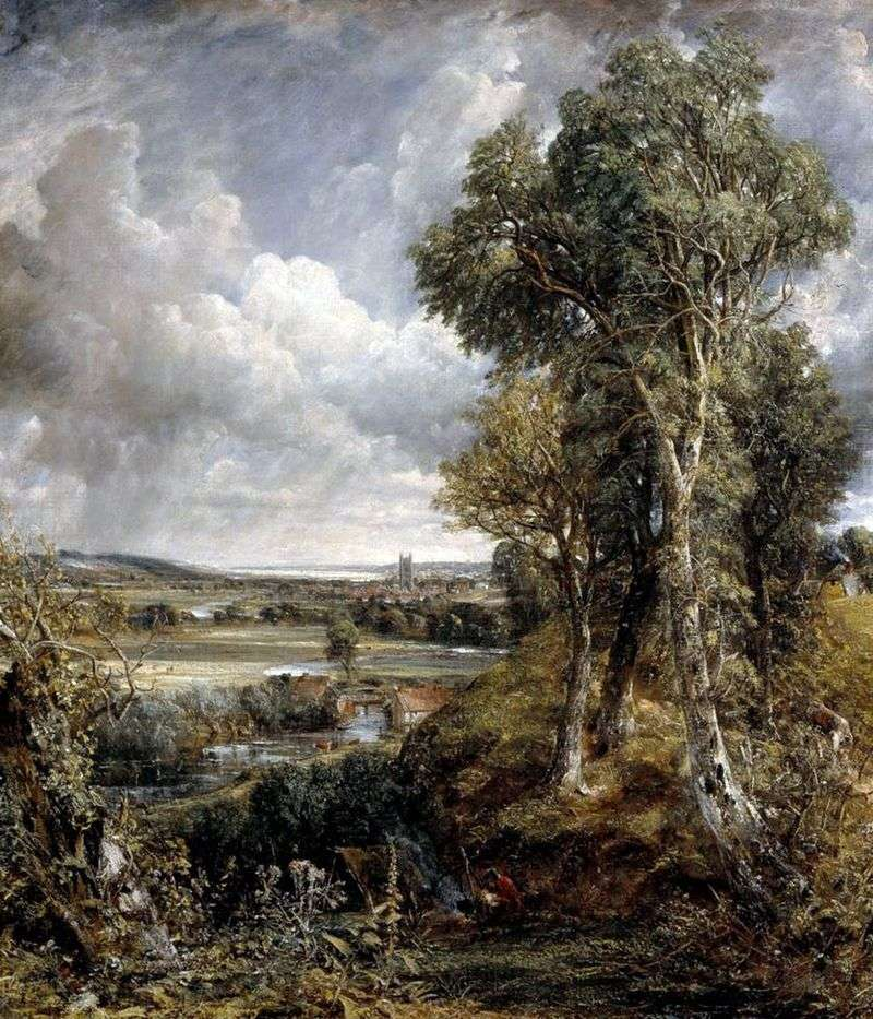 Dedham Valley   John Constable