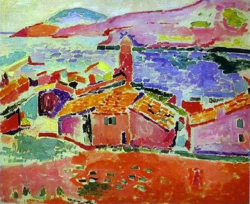 Widok Collioure   Henri Matisse
