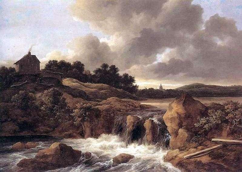Wodospady   Jacob van Ruisdal