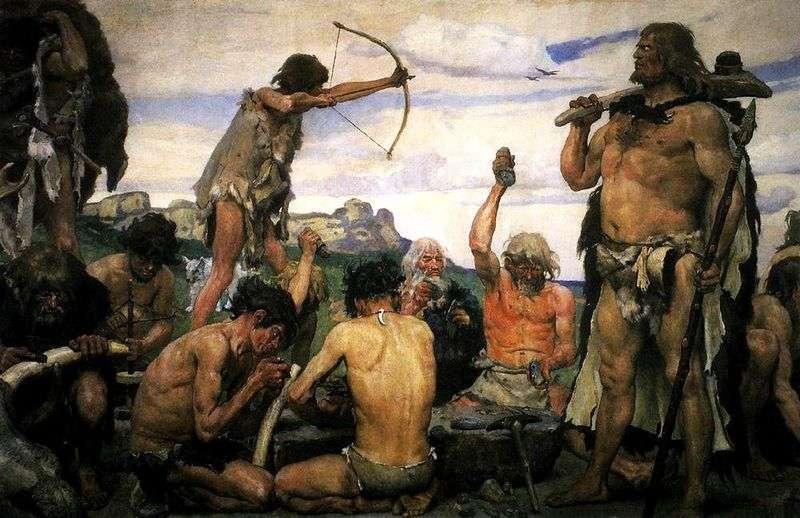 Epoka kamienia   Victor Vasnetsov