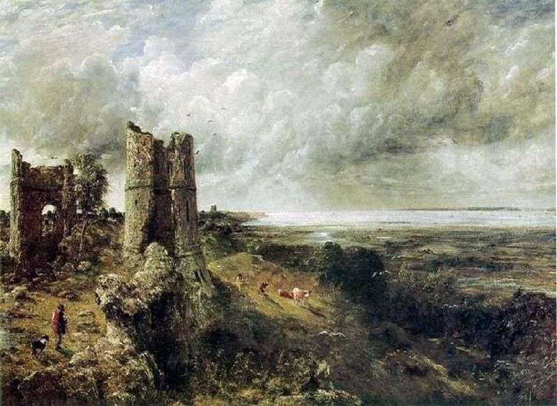 Zamek Hadley   John Constable