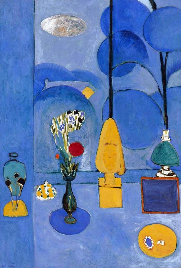 Niebieskie okno   Henri Matisse