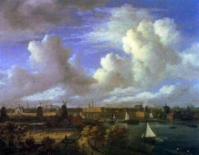 Widoki miejskie   Jacob van Ruysdal