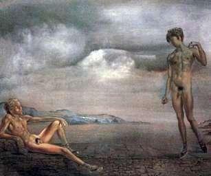 Dwóch młodych   Salvador Dali