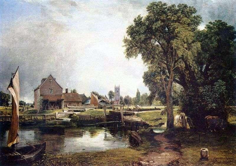 Dedham Mill   John Constable