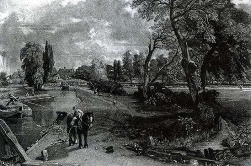 Mezzotint   John Constable