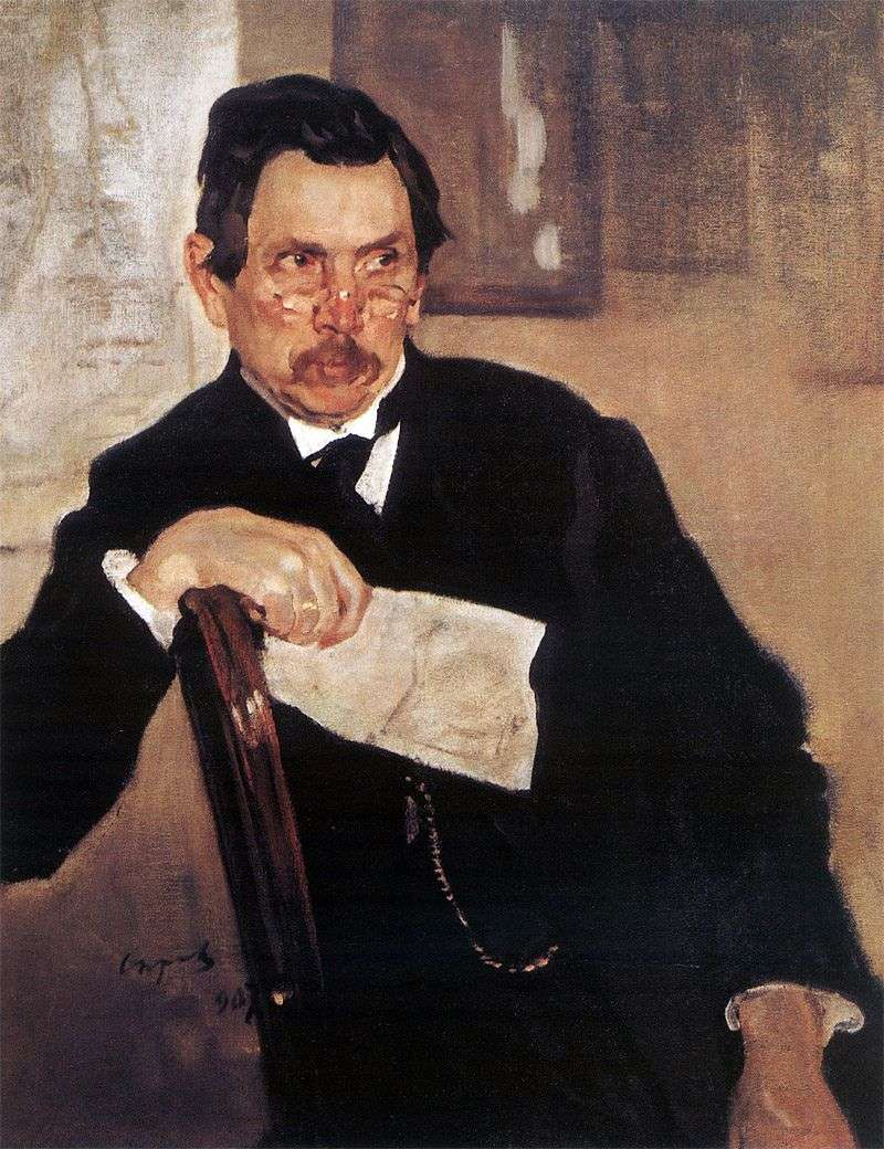 Portret A. V. Kasyanova   Valentina Serowa