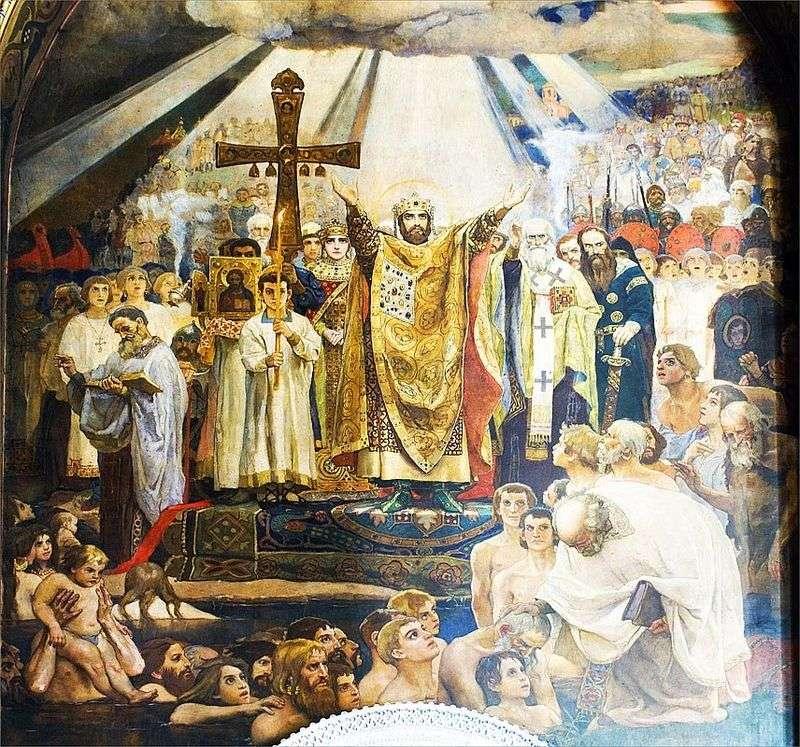 Chrzest Rusi   Victor Vasnetsov