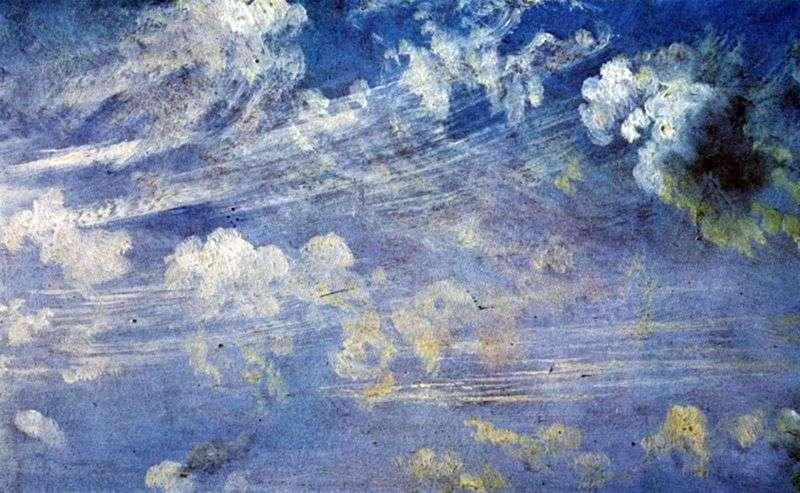 Chmury Cirrus   John Constable