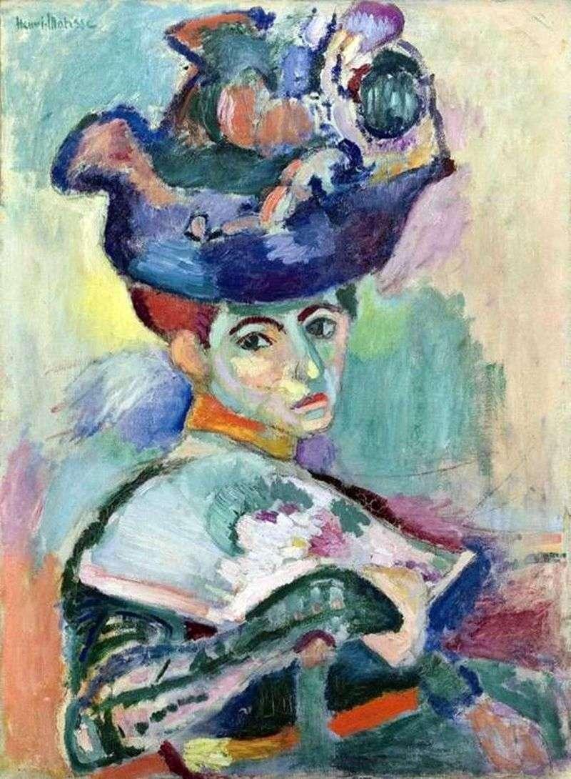 Kobieta w kapeluszu   Henri Matisse