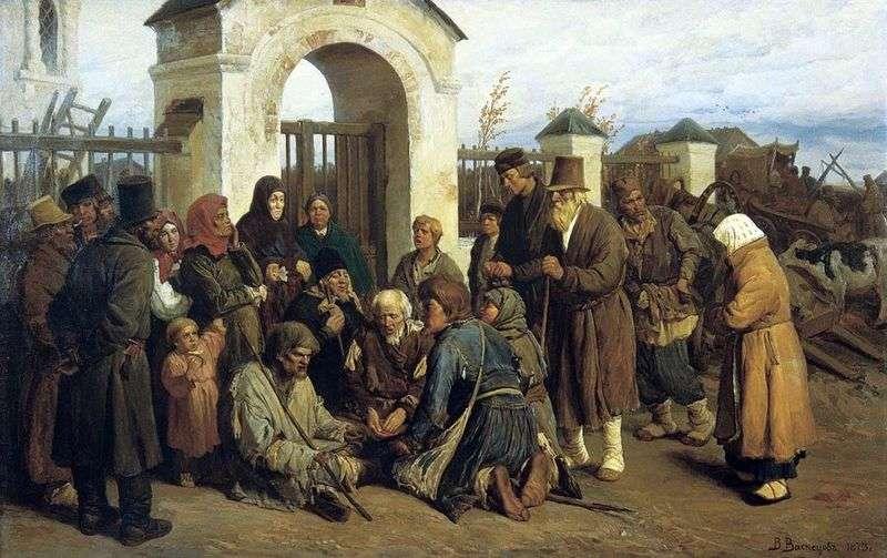 Żebracy śpiewacy (pielgrzymi)   Victor Vasnetsov