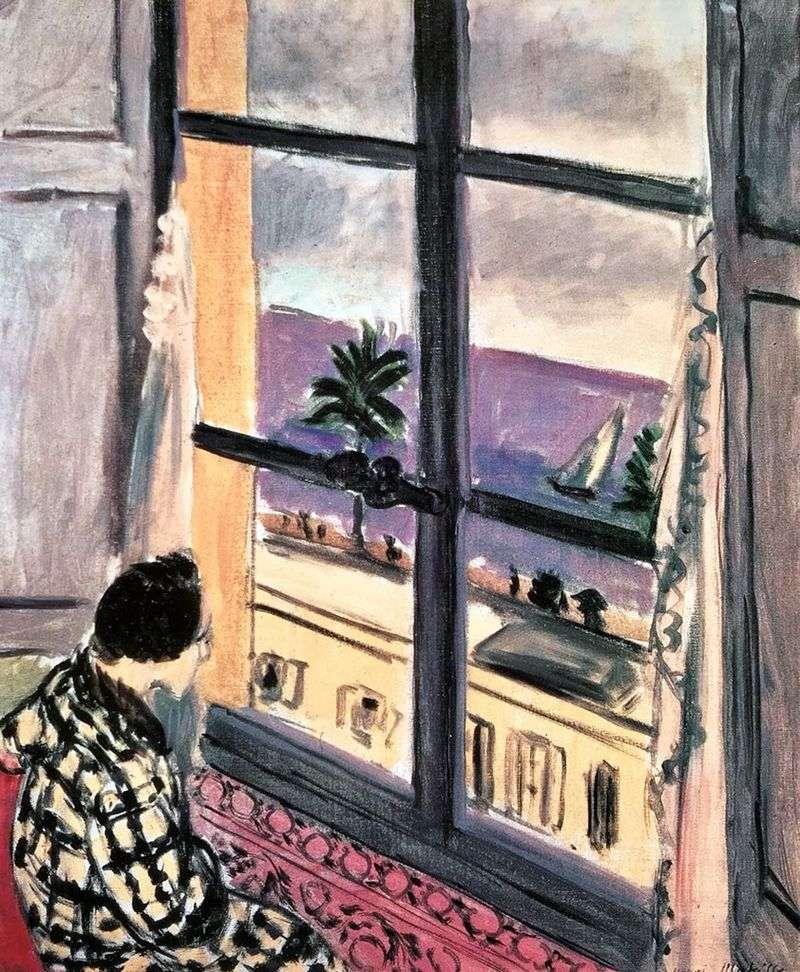 Kobieta przy oknie   Henri Matisse