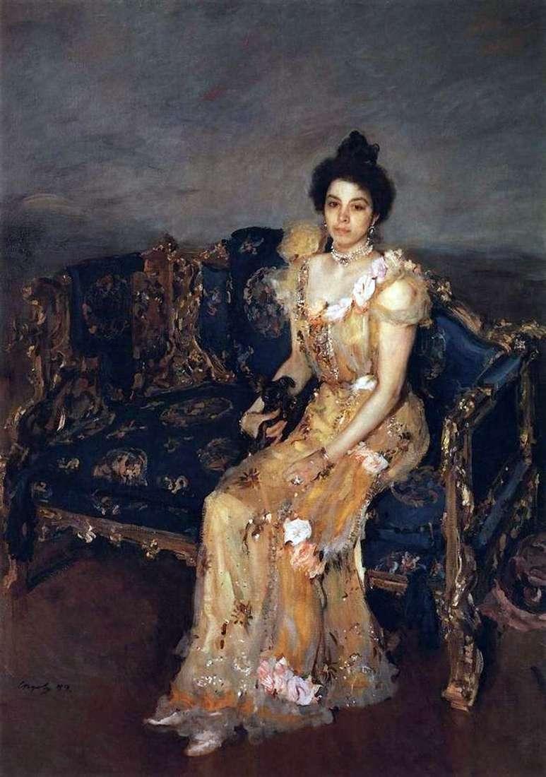 Portret Botkina S. M.   Valentin Serov