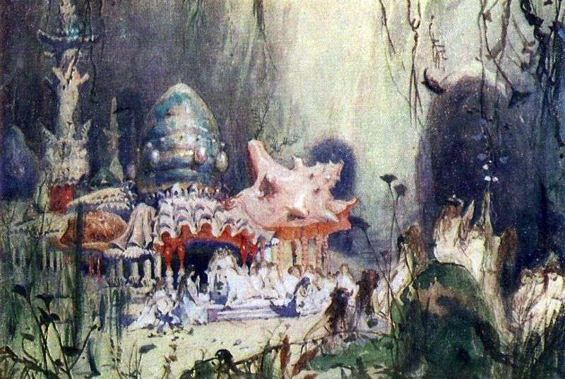 Podwodna wieża   Viktor Vasnetsov