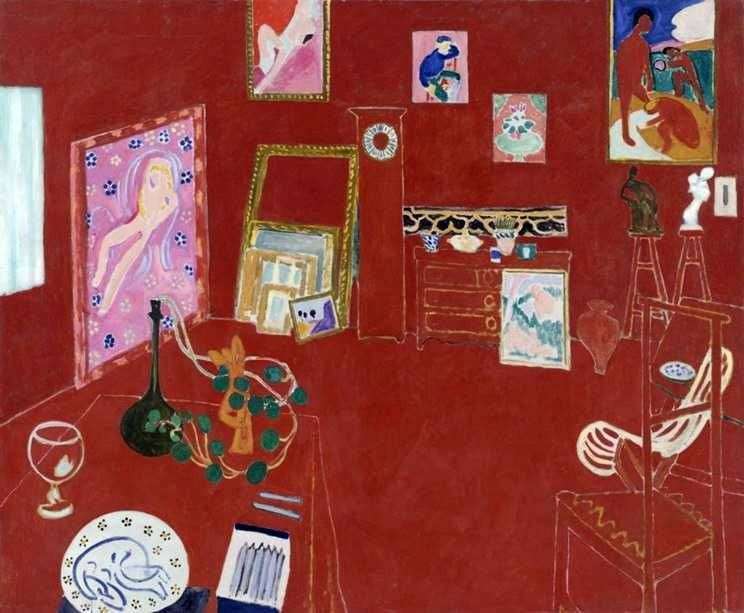 Red Studio   Henri Matisse