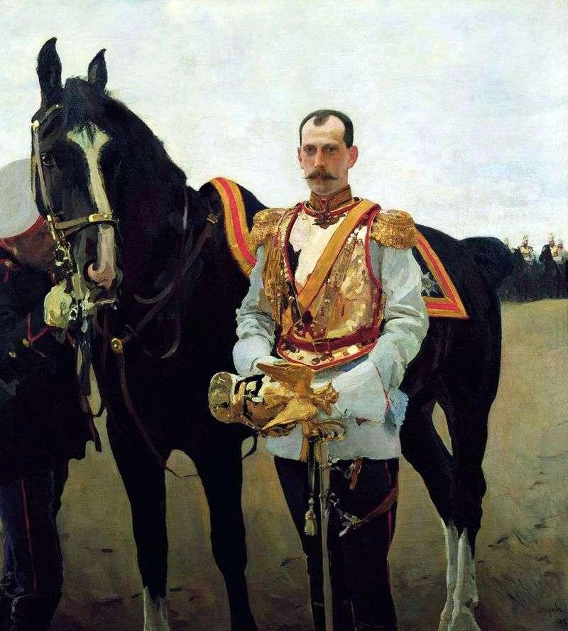 Portret wielkiego księcia Pavera Aleksandrowicza   Valentina Serowa