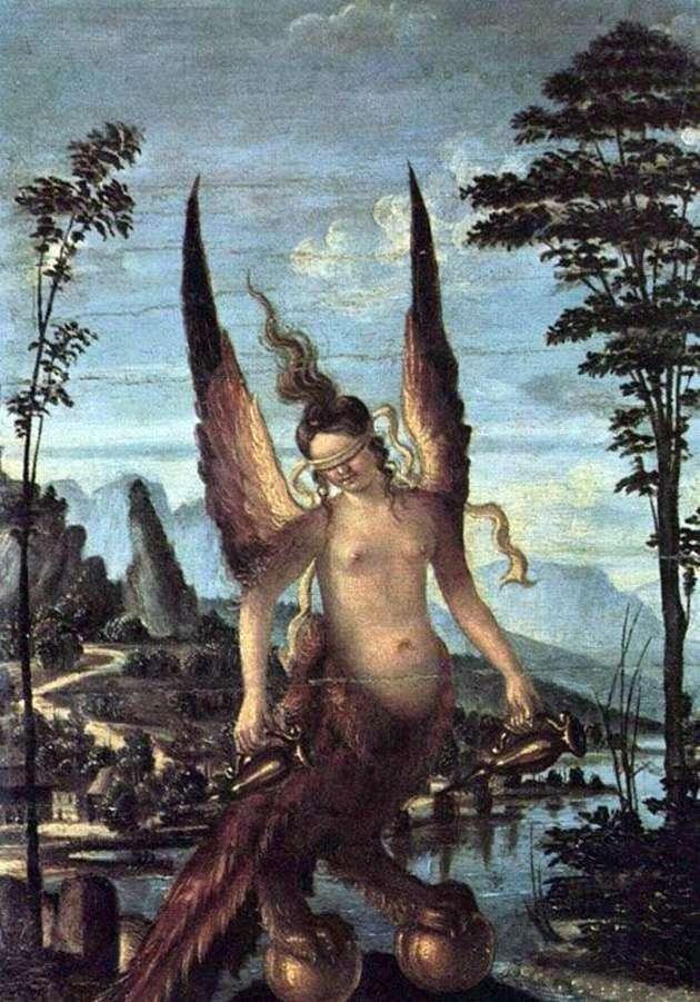 Chciwość lub cnota   Giovanni Bellini