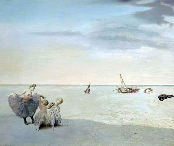 Forgotten Horizon   Salvador Dali
