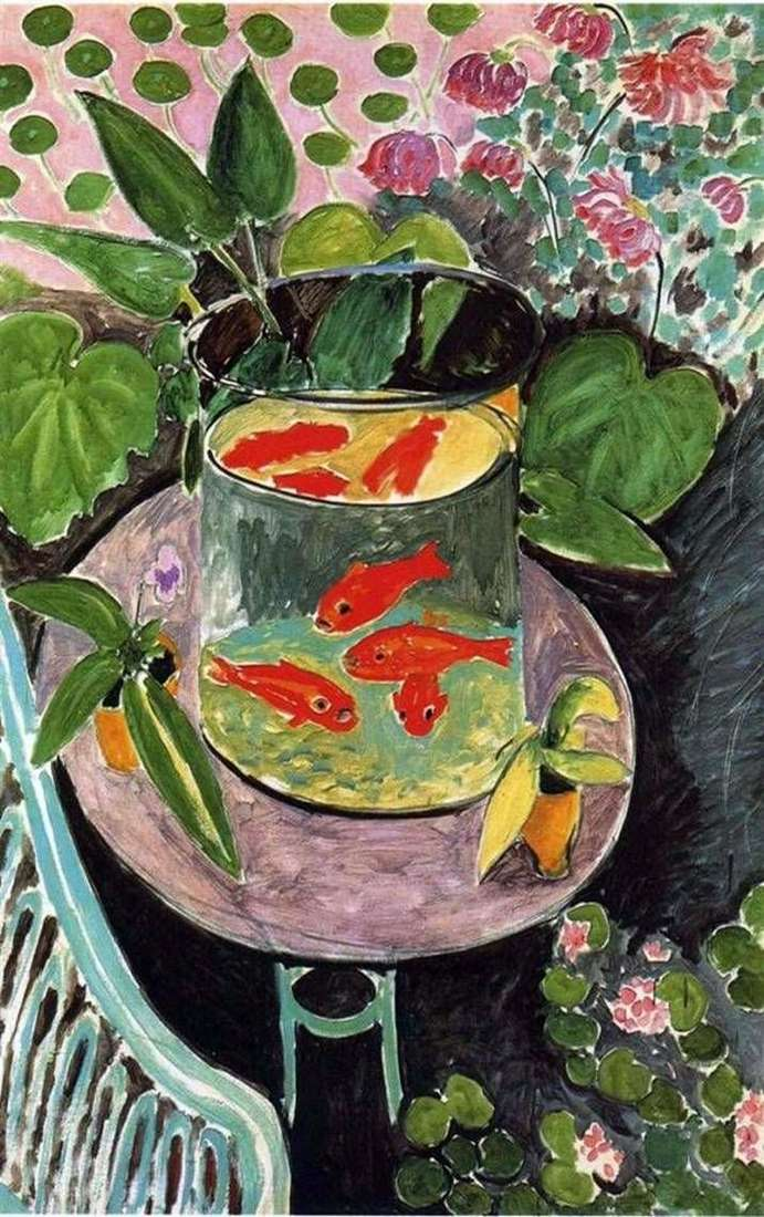 Czerwone ryby   Henri Matisse
