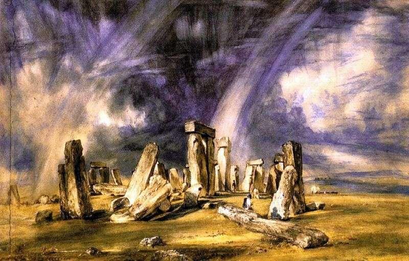 Stonehenge   John Constable