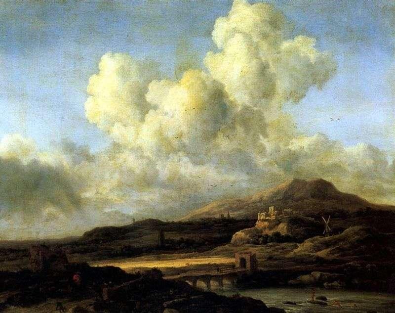 Promień Słońca   Jacob van Ruysdal