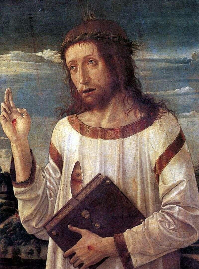 Chrystus Błogosławieństwo   Giovanni Bellini