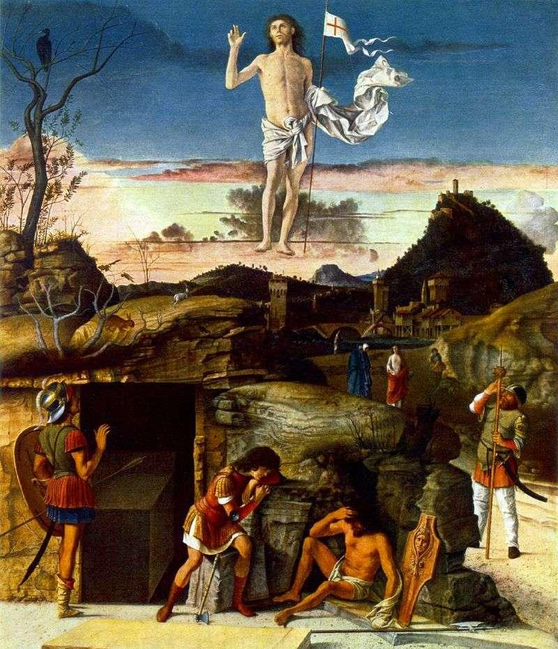 Zmartwychwstanie Chrystusa   Giovanni Bellini