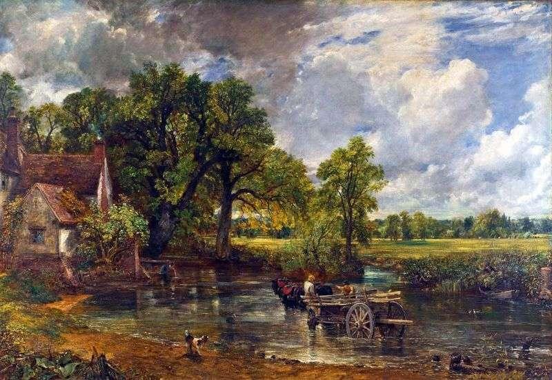 Wóz siana   John Constable