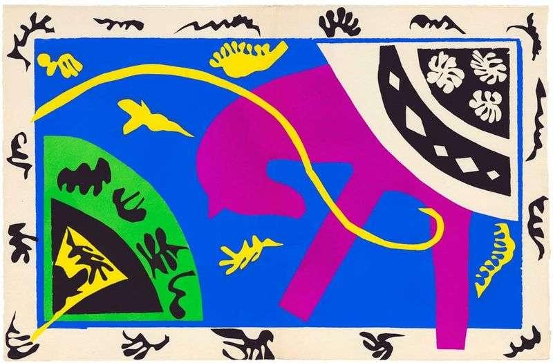 Koń, jeździec i klaun   Henri Matisse