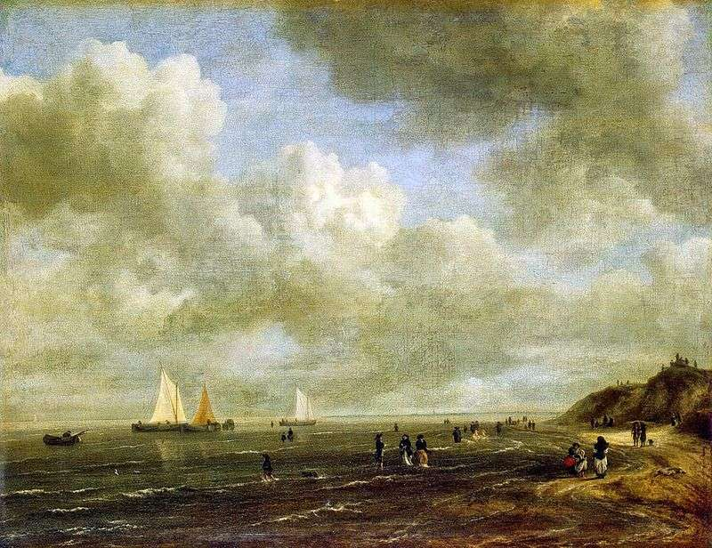 Seashore   Jacob van Reisdal
